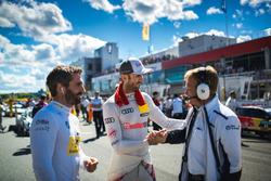 Timo Glock, BMW Team RMG, BMW M4 DTM, René Rast, Audi Sport Team Rosberg, Audi RS 5 DTM, Stefan Reinhold, Team principal BMW Team RMG