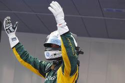 Race winner Giedo van der Garde