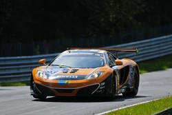 #59 Dörr Motorsport  McLaren MP4-12C GT3: Stefan Aust, Kai Riemer, Peter Kox, Henri Moser