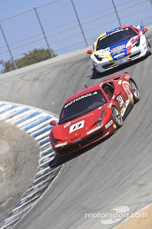 #13 Ferrari of Ontario Ferrari 458 Challenge: Marc Muzzo