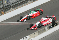 Michel Jourdain, Jr., Rahal Letterman Lanigan Honda and Justin Wilson, Dale coyne Racing Honda