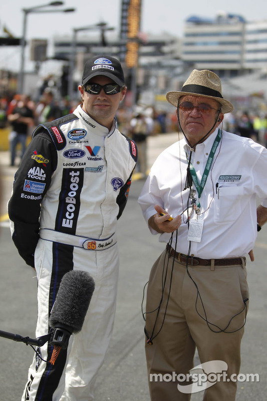 Ricky Stenhouse Jr. and Jack Roush