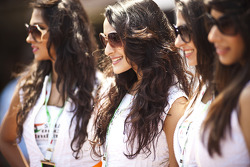 Sahara Force India F1 Team girls
