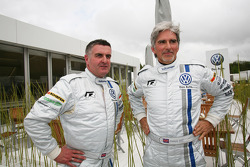 Damon Hill and Martin Donnelly