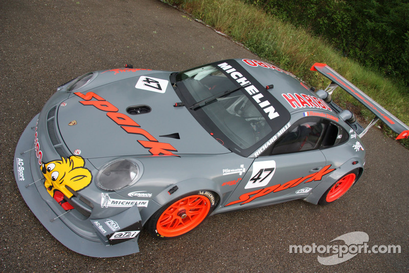 Romain Dumas' Porsche 911 GT3 R