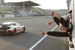 #1 Hexis Racing McLaren MP4-12C GT3: Frederic Makowiecki, Stef Dusseldorp take the win
