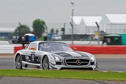 #13 KRK Racing Mercedes-Benz SLS AMG GT3: Koen Wauters, Karl Wendlinger, Anthony Kumpen