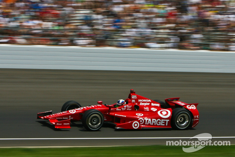 All 31 of Dario's Indy car wins came at the wheel of Honda-powered cars. This was his final triumph, at the 2012 Indianapolis 500.