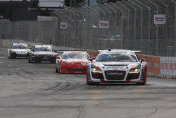 #51 APR Motorsport Audi R8 Grand-Am: Jim Norman, Dion von Moltke #31 Marsh Racing Corvette: Boris Said, Eric Curran #70 SpeedSource Mazda RX-8: Sylvain Tremblay, Jonathan Bomarito