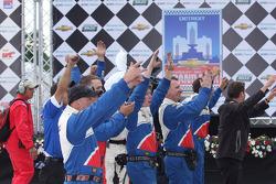 #9 Action Express Racing Corvette  DP crew