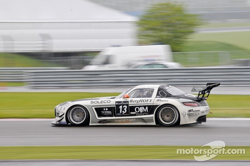 #13 KRK Racing Mercedes-Benz SLS AMG GT3: Koen Wauters, Karl Wendlinger, Anthony Kumpen