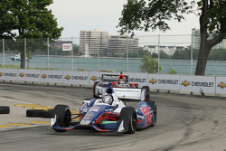 Marco Andretti, Andretti Autosport Chevrolet and J.R. Hildebrand, Panther Racing Chevrolet
