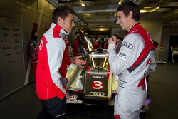 Loic Duval and Oliver Jarvis