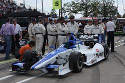 Rahal Letterman Lanigan Honda crew