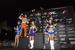 Eerste plaats Daigo Saito, 2de Chris Forsberg, 3de Daijiro Yoshihara