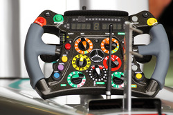 Mercedes AMG F1 steering wheel
