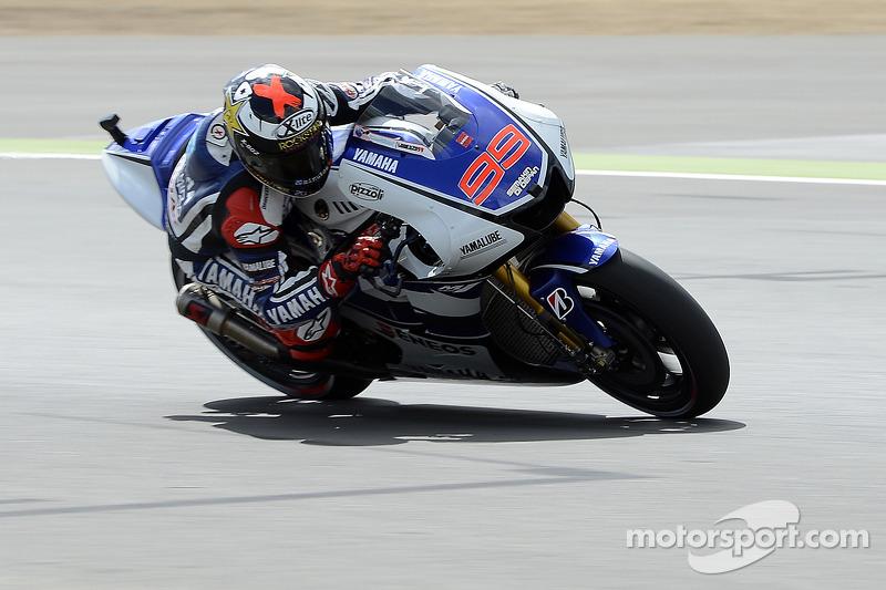 2012 - Silverstone: Jorge Lorenzo, Yamaha YZR-M1