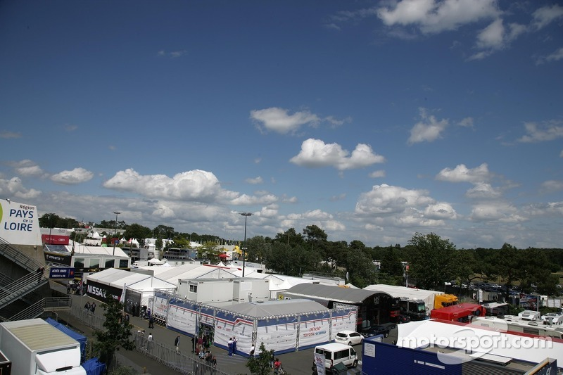 View to the Paddock