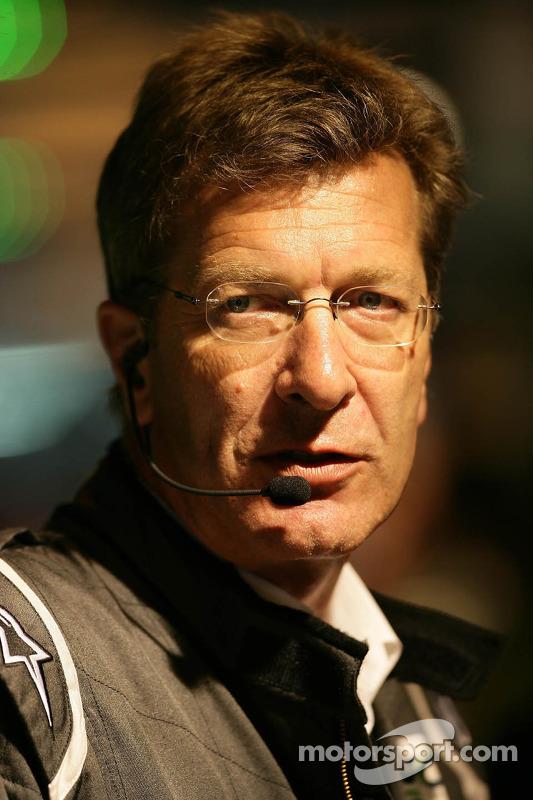 Ralf Jüttner, Technical Director Audi Team Joest