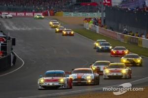#79 Flying Lizard Motorsports Porsche 911 RSR: Seth Neiman, Patrick Pilet, Spencer Pumpelly
