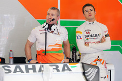 Paul di Resta, Sahara Force India F1 with Gerry Convy, Personal Trainer