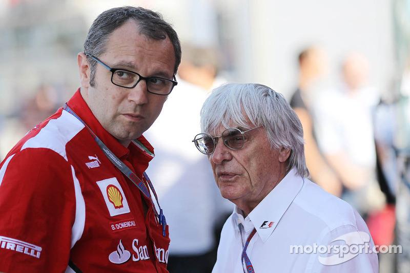 Стефано Доменикали в ту пору руководил командой Ferrari, а Берни Экклстоун – Формулой 1