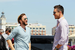 Nick Heidfeld, with Andre Lotterer