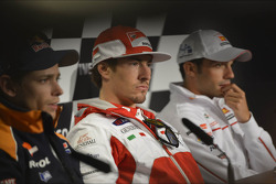 Casey Stoner, Repsol Honda Team, Nicky Hayden, Ducati Marlboro Team, Michele Pirro, Honda Gresini
