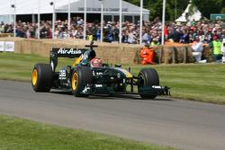Heikki Kovalainen in Caterham T127