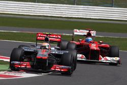 Lewis Hamilton, McLaren Mercedes and Lewis Hamilton, McLaren Mercedes