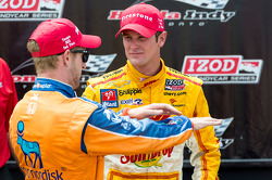 Charlie Kimball and Ryan Hunter-Reay