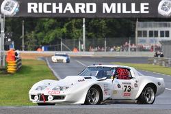 #73 Chevrolet Corvette: Eric helary, Jean Loup Jourdain, Lionel Bosch