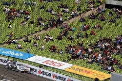 Ральф Шумахер, Гэри Паффет, Кристиан Фиторис и Джейми Грин. Мюнхенский автосалон, суббота.