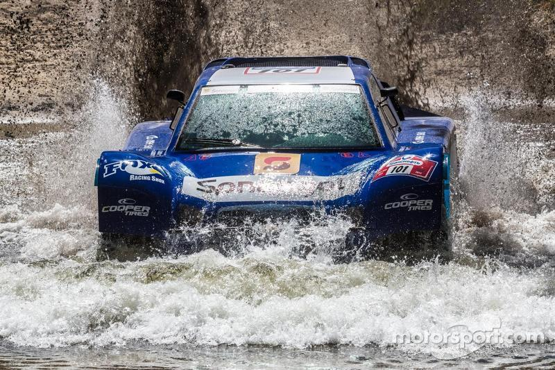 Jean-Louis Schlesser on the first stage