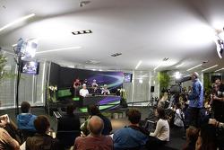 Pressconference, Timo Glock, Marussia F1 Team, Nico Rosberg, Mercedes GP, Mark Webber, Red Bull Racing, Sebastian Vettel, Red Bull Racing, Nico Hulkenberg, Sahara Force India Formula One Team, Michael Schumacher, Mercedes GP