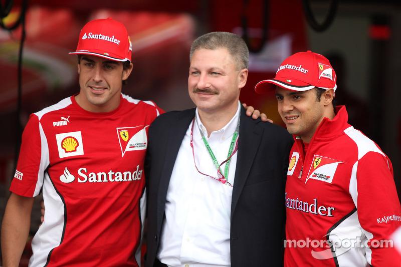 Fernando Alonso, Scuderia Ferrari en Felipe Massa, Scuderia Ferrari