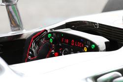 McLaren steering wheel for Lewis Hamilton, McLaren