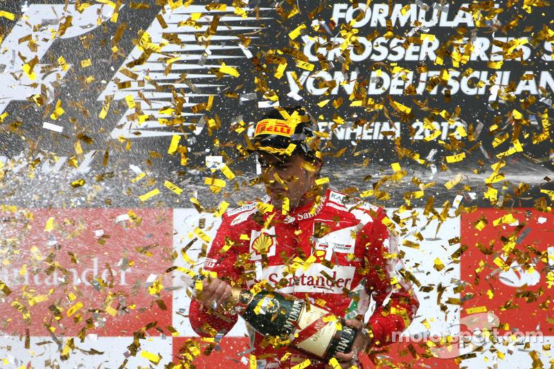 Hockenheim 2012 : Ferrari ontzegt Vettel de thuiszege