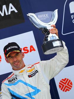 Podium: third place Alain Menu, Chevrolet Cruze 1.6T, Chevrolet