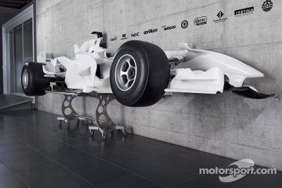 Cutaway of a Sauber F1