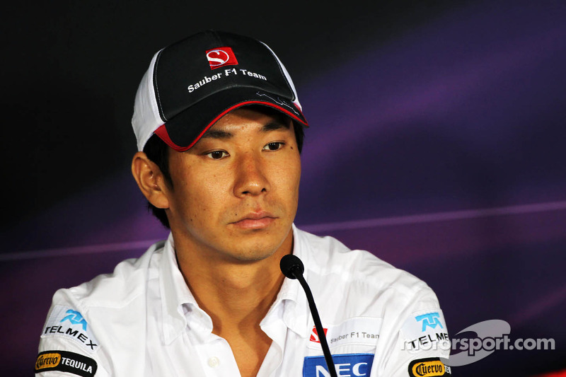 Kamui Kobayashi, Sauber in FIA persconferentie