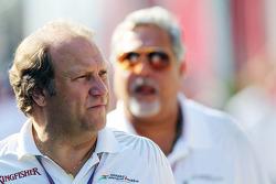 Bob Fernley Sahara Force India F1 Team Subdirector equipo