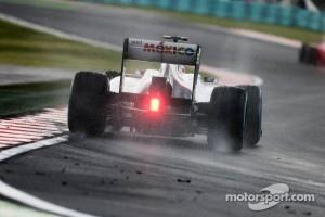 Kamui Kobayashi, Sauber in the wet