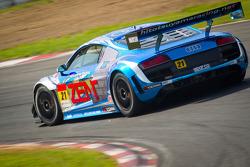 #21 Hitotsuyama Racing Audi R8 LMS: Cyndie Allemann, Akihiro Tsuzuki