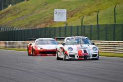 #86 RMS Porsche 997 GT3 Cup: Thierry Stepec, Thierry Prignaud, Marc Faggionato
