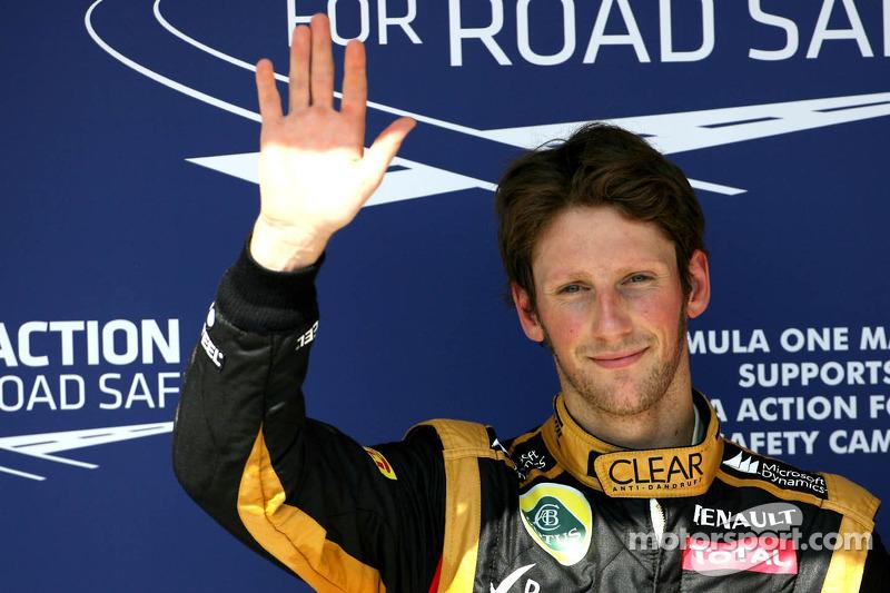 2012 - Romain Grosjean, Lotus F1