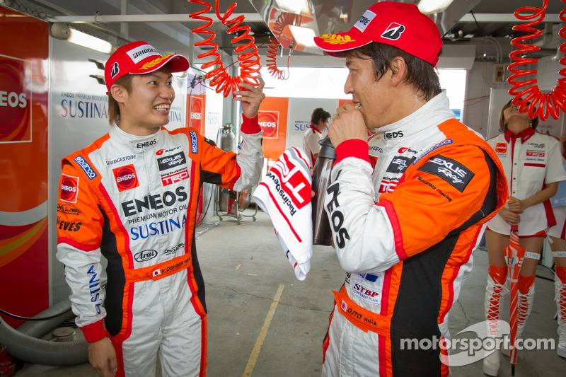GT500 pole winnaars Kazuya Oshima en Daisuke Ito