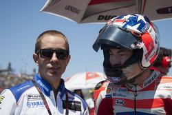Nicky Hayden, Ducati Marlboro Team, et Tommy Hayden
