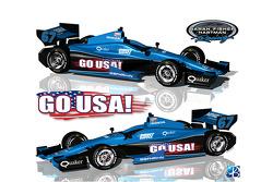 Sarah Fisher Hartman Racing special livery