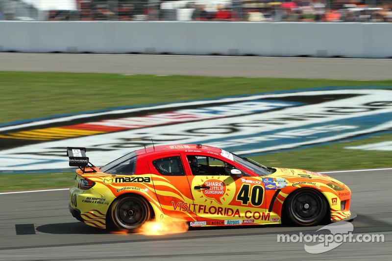 #40 Dempsey Racing Mazda RX-8: Scott Maxwell, Tom Long